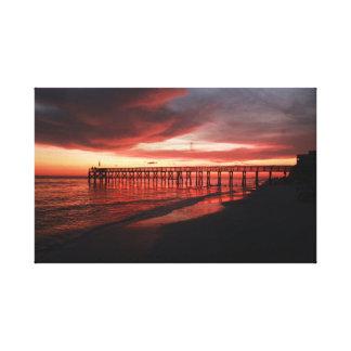 Toile Coucher du soleil de la Floride