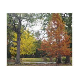 Toile Couleurs lumineuses d'automne en Alabama