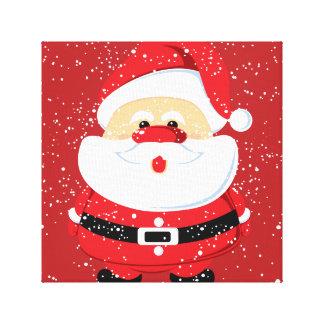 Toile Coutume mignonne de Noël du père noël