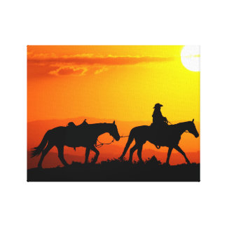 Toile Cowboy-Cowboy-Texas-occidental-pays occidental