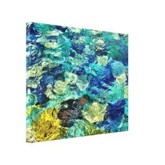 Toile Créez votre propre art abstrait 14 x 11
