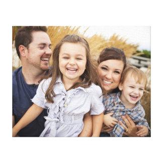 Toile Créez votre propre photo de famille