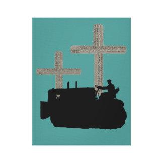 Toile Croix fonctionnante de chrétien d'ingénieur de