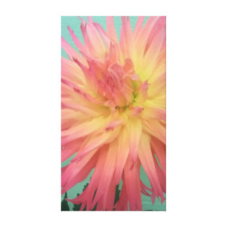 Toile Dalia hybride rose