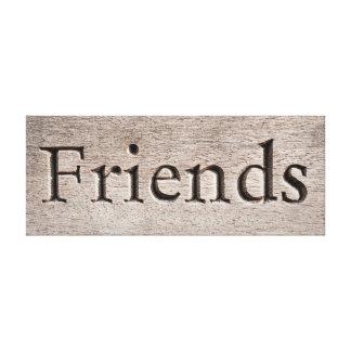 Toile d'amis toiles