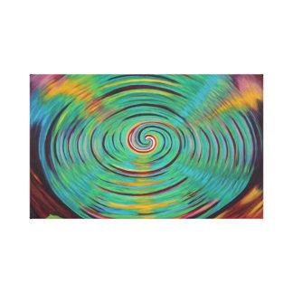 Toile Dans le vortex