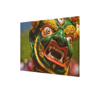 Toile Danseur masqué par Asiatique