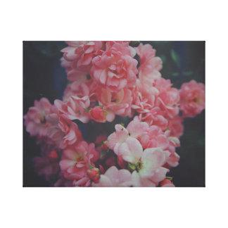 Toile Dark Roses