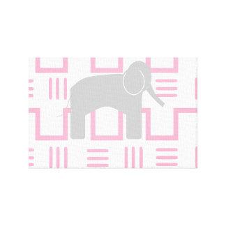 Toile d'art de mur d'éléphant de bébé toiles
