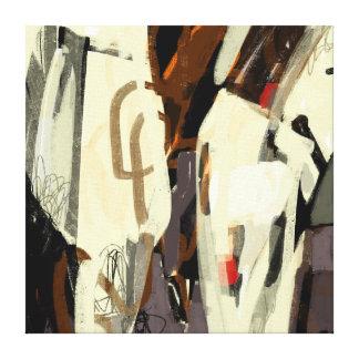Toile d'art moderne abstraite criquée toiles