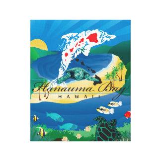 Toile Dauphin d'Hawaï de baie de Hanauma