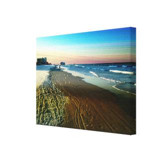 Toile Daytona Beach Shoreline et promenade