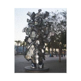 Toile de la sculpture #2 de San Francisco