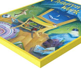Toile de la semaine du livre de 2008 enfants