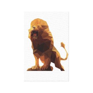 Toile de lion