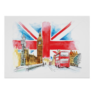 Toile de Londres Big Ben
