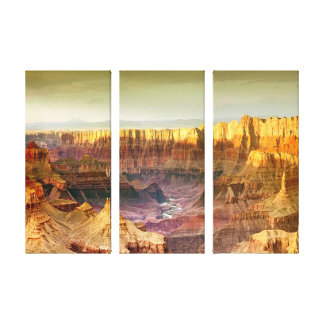 toile de panneau du panorama 3 de canyon grand
