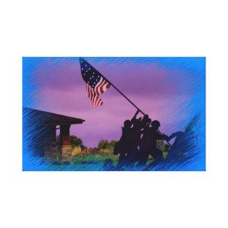 Toile de soldats du Kansas USA Toiles