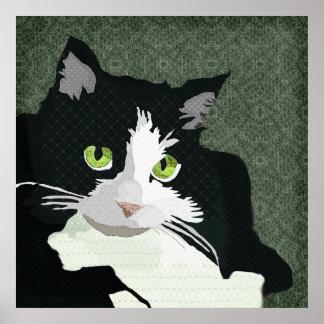 Toile de vert d'art de Mia Posters