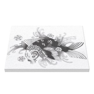 Toile - Design Black Rose Body Art