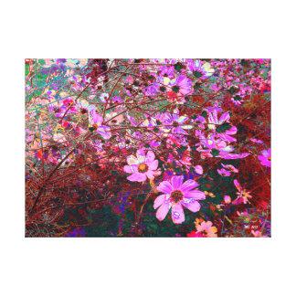Toile Dramatique, l'art de photographie de l'été couleur