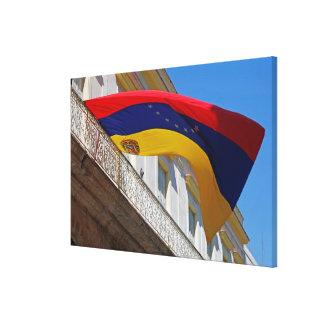 Toile Drapeau du Venezuela