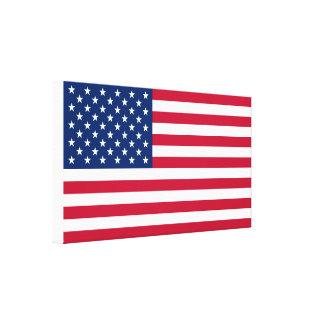 Toile Drapeau Etats-Unis américains de l'Amérique