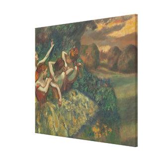Toile Edgar Degas | quatre saisons dans l'une tête,