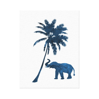 Toile Éléphant