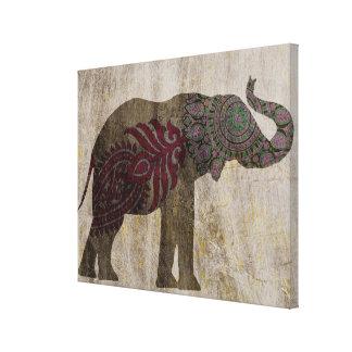Toile Éléphant de tribal de zen