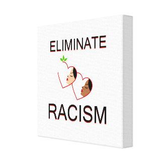 Toile Éliminez le racisme