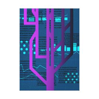 Toile Entailler de Cyberpunk