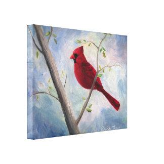 Toile enveloppée par cardinal toiles