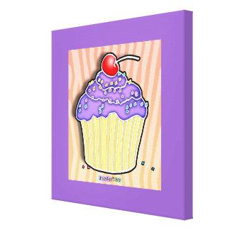 Toile enveloppée par galerie de petit gâteau de