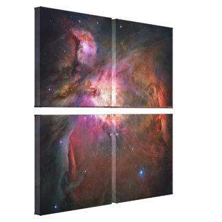 Toile enveloppée par nébuleuse d Orion Impression Sur Toile