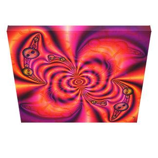 Toile enveloppée par spirale cellulaire toiles