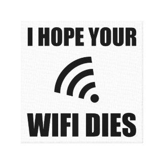 Toile Espérez vos matrices de Wifi