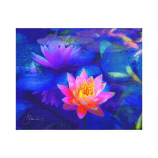 Toile Étang de Lotus