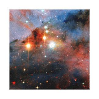 Toile Étoiles binaires WR 25 et Tr16-244 - photo de