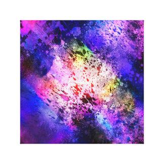 Toile Explosion 1 de l'espace d'Abstrat