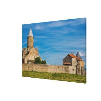 Toile Extérieur antique de monastère