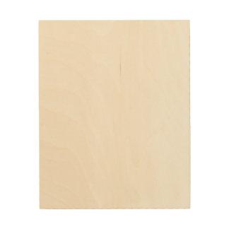 Toile faite sur commande en bois 8x10 impressions sur bois