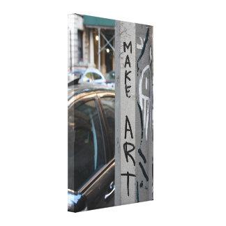 Toile FAITES la photographie NYC de rue de graffiti de