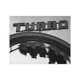 Toile Faites une boucle la boucle Turbo