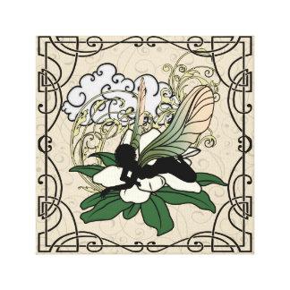 Toile Fée d'ombre de magnolia