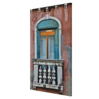 Toile Fenêtre à Venise