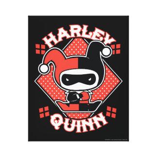 Toile Fentes de Chibi Harley Quinn