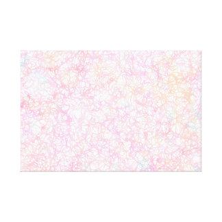 Toile Ficelles modernes colorées - pastel de perle