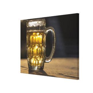Toile Fin de boisson en verre de bière, l'Inde