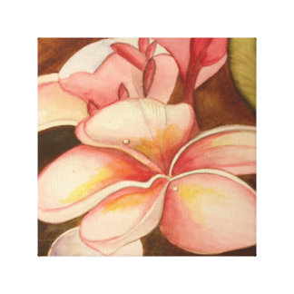 Toile Fleur de tipanier